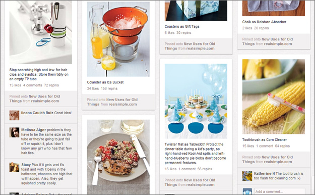 pintrest Pinterest: Social Media's Latest Pin-Up